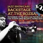 Jazz Showcase Backstage at the Rozsa