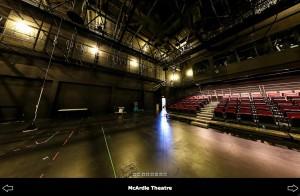 McArdle Theatre Panorama