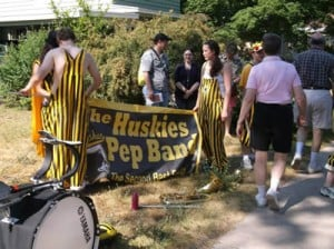 Pep Band Cherry Royale Parade 2013