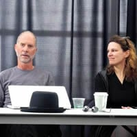 John Luther Adams and Libby Meyer