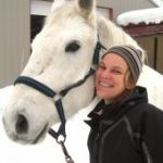 Libby Meyer with her horse