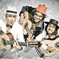Three guitarists