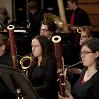 Superior Wind Symphony playing bassons