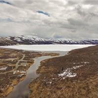 Mount runoff landscape