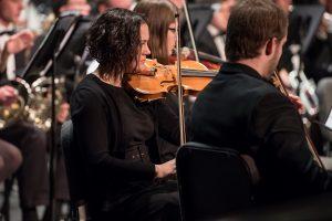 Violinists in KSO