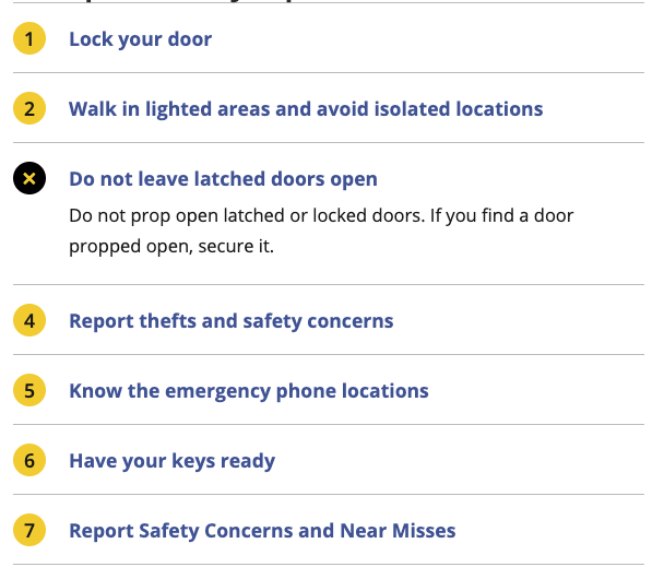 Screenshot of FAQ example.