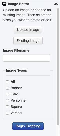 Image Editor gadget.