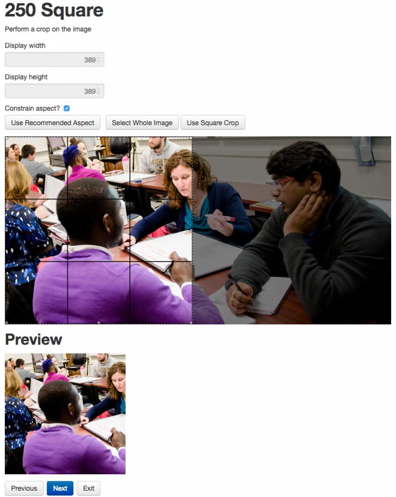 Screen shot of the image editor window.