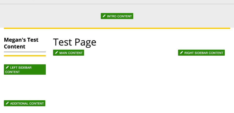 Page Editable Regions.