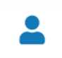 File status icon for a file in the Approval Workflow—blue person.