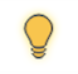 File status icon for a page you have checked out—yellow lightbulb.