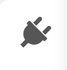 Plug icon indicating the Sidebar Gadgets.